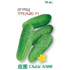 Огурец Премио F1   10 шт   Сады Азии