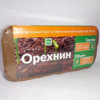 Кокосовый брикет Орехнин - купить, отзывы