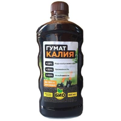 Гумат калия - жидкое удобрение для подкормки