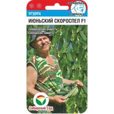 Огурец Июньский скороспел F1 | 7 шт | Сибирский сад