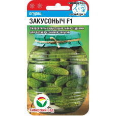 Огурец Закусоныч F1 | 7 шт | Сибирский сад