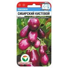 Баклажан Сибирский кистевой | 20 шт | Сибирский сад
