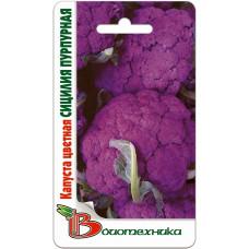 Капуста цветная Сицилия пурпурная | 0.5 г | Биотехника